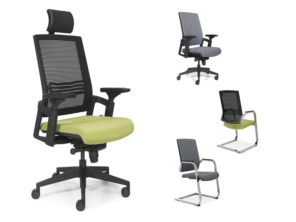 LOTUS | Cadeiras de Administração para Escritório