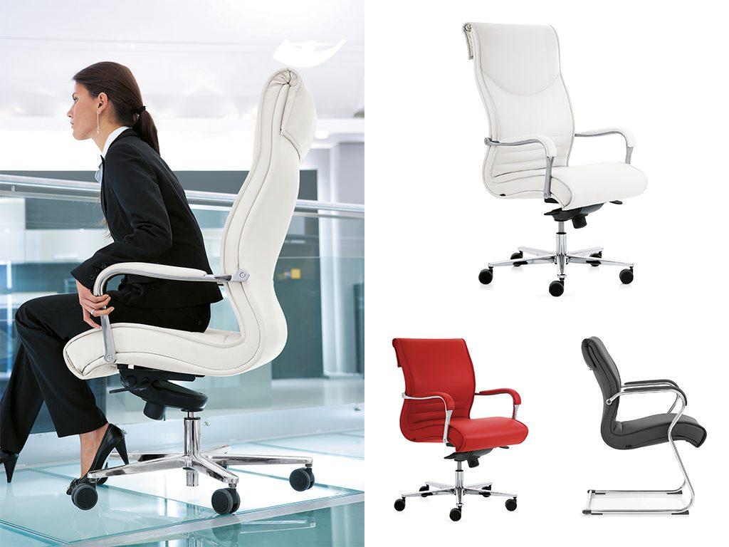 PULCHRA | Cadeiras de Administração para Escritório