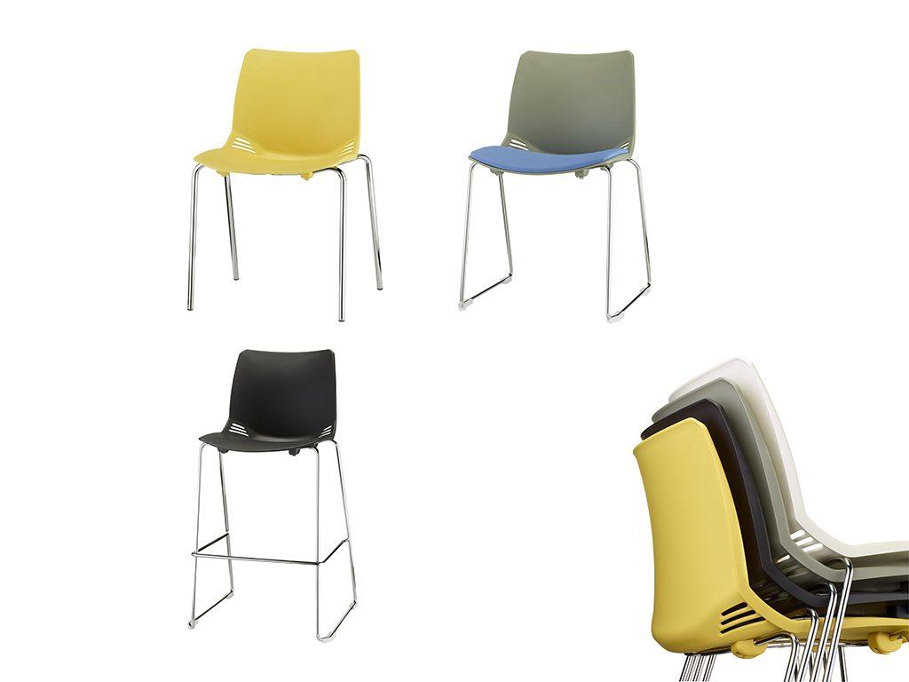 BASKET | Cadeiras Multiuso para Escritório