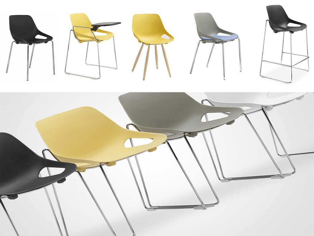 MUSTANG | Cadeiras Multiuso para Escritório