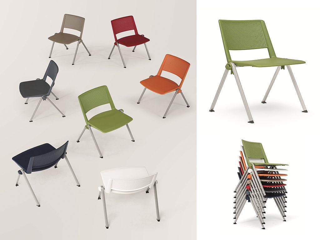 REVOLUTION | Cadeiras Multiuso para Escritório