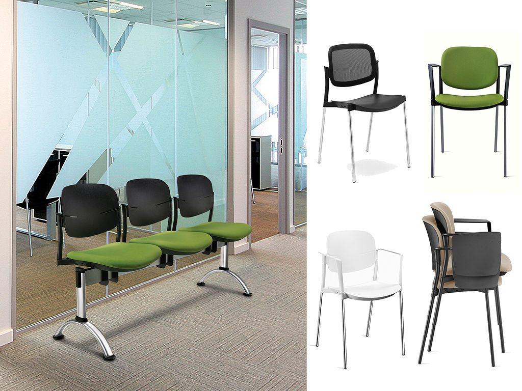STEP | Cadeiras Multiuso para Escritório