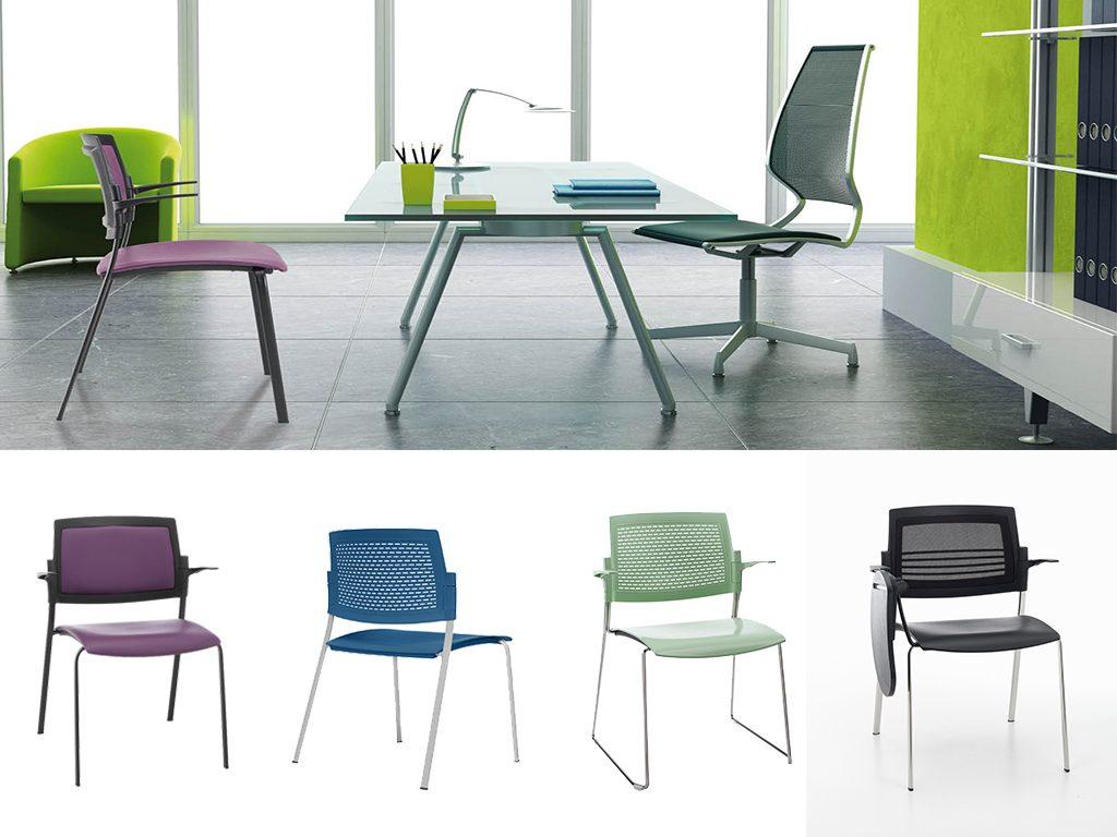 PARKER | Cadeiras Multiuso para Escritório