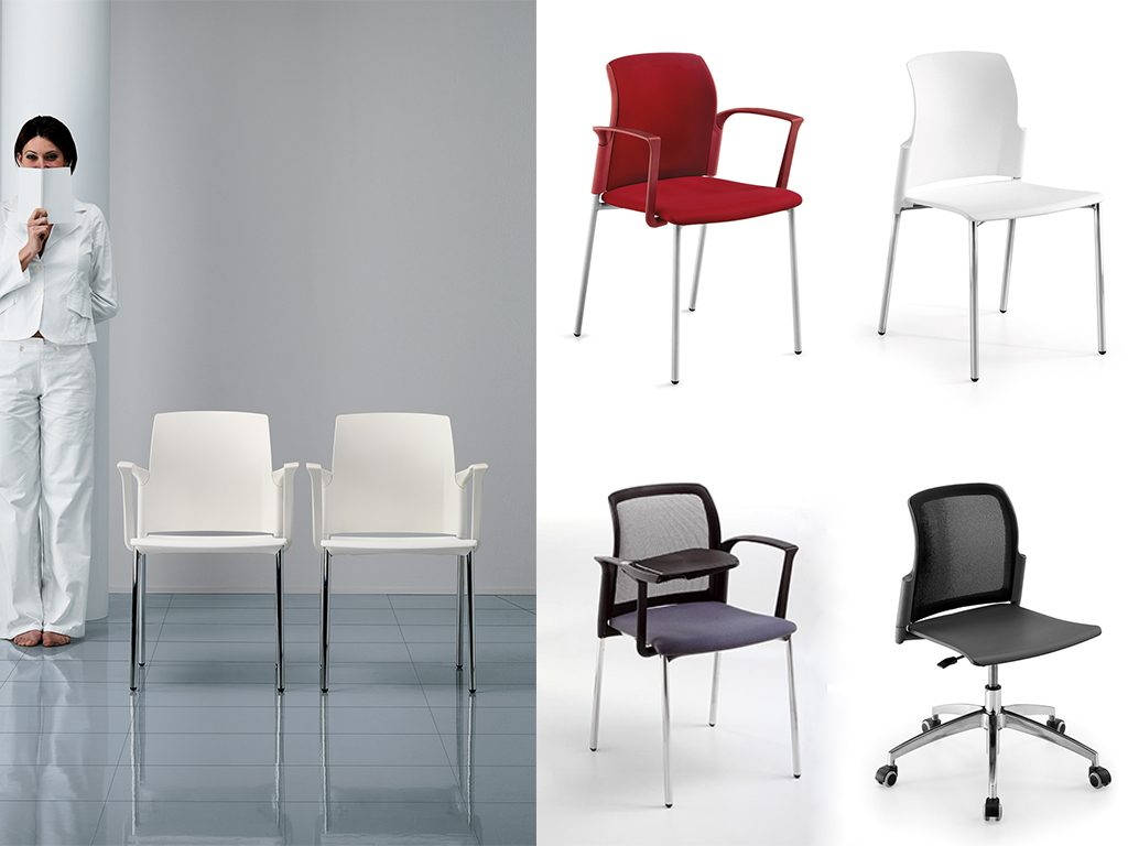 CLASS | Cadeiras Multiuso para Escritório
