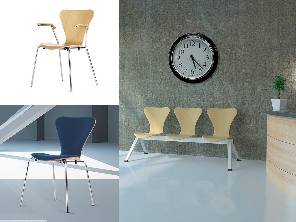 JACOBSEN | Cadeiras Multiuso para Escritório