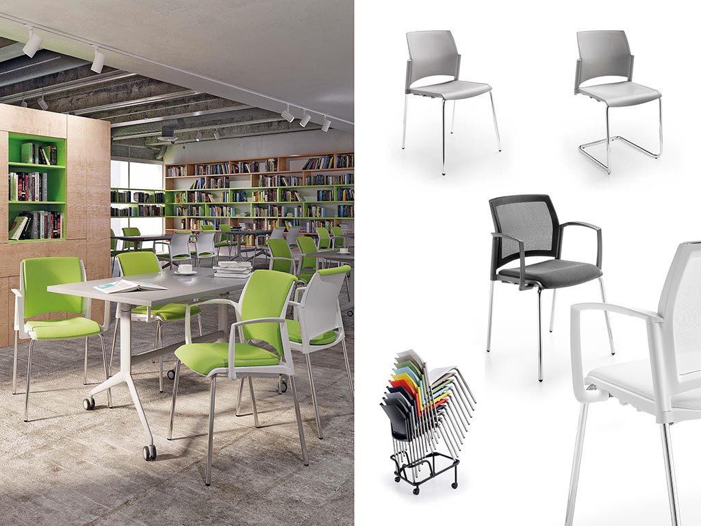 START | Cadeiras Multiuso para Escritório