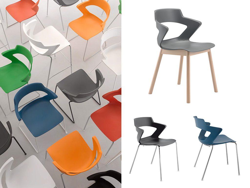 ZENYTH | Cadeiras Multiuso para Escritório