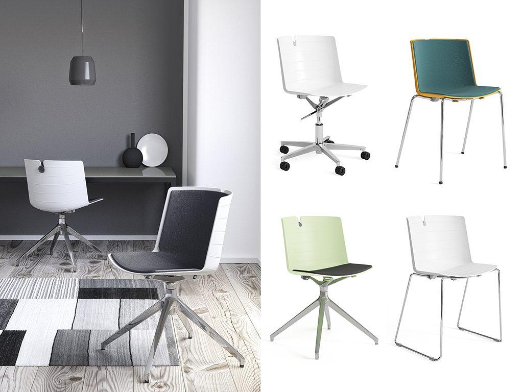 MORK | Cadeiras Multiuso para Escritório