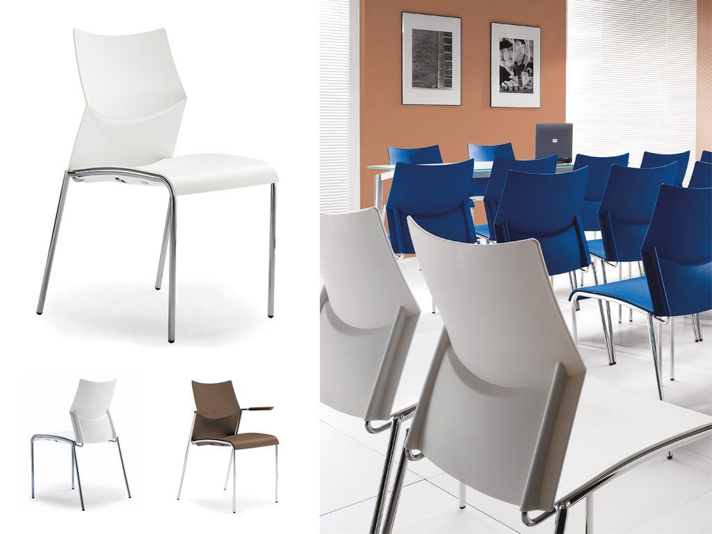 CLIP | Cadeiras Multiuso para Escritório