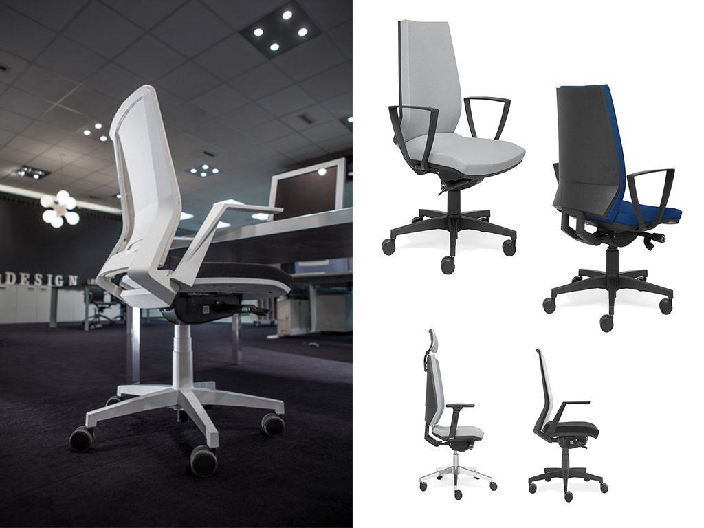 QUARTZO | Cadeiras Operativas para Escritório