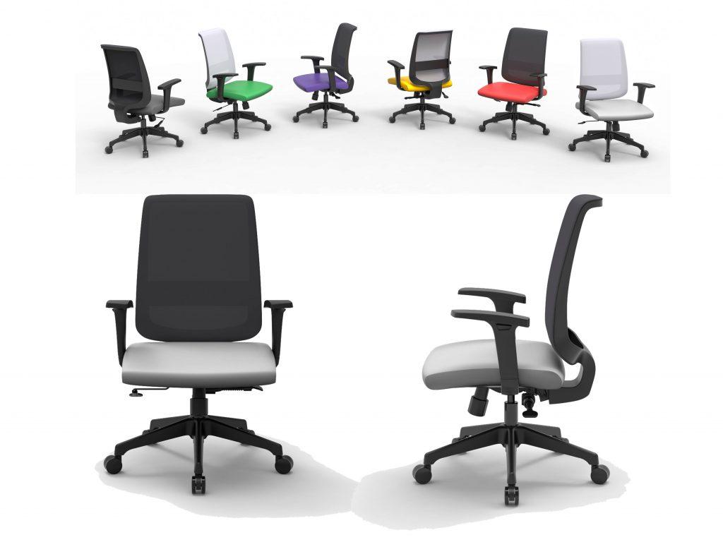 XT31 | Cadeiras Operativas para Escritório