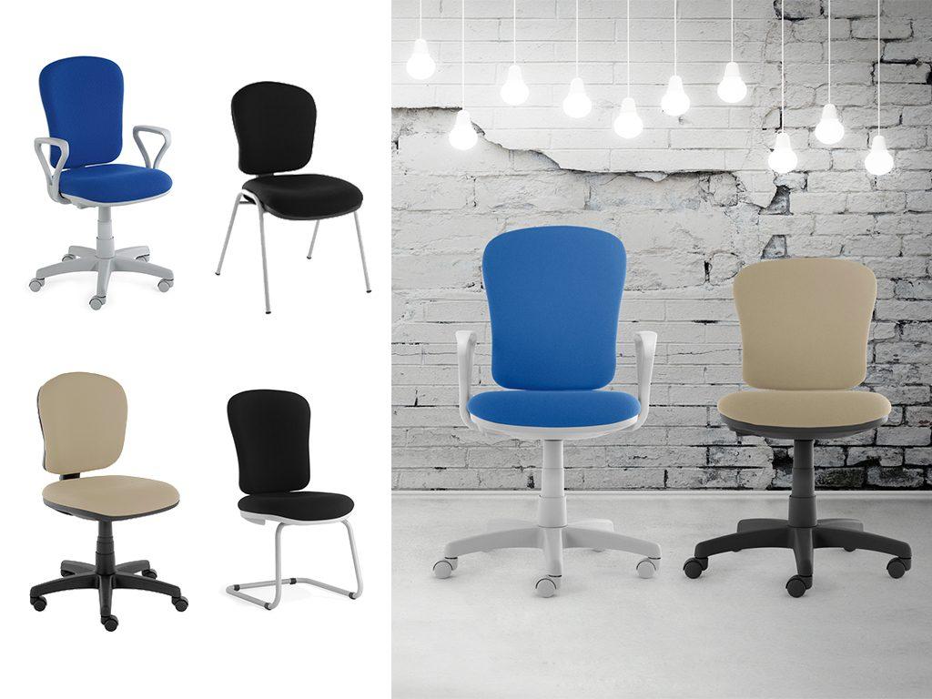 DONNA | Cadeiras Operativas para Escritório
