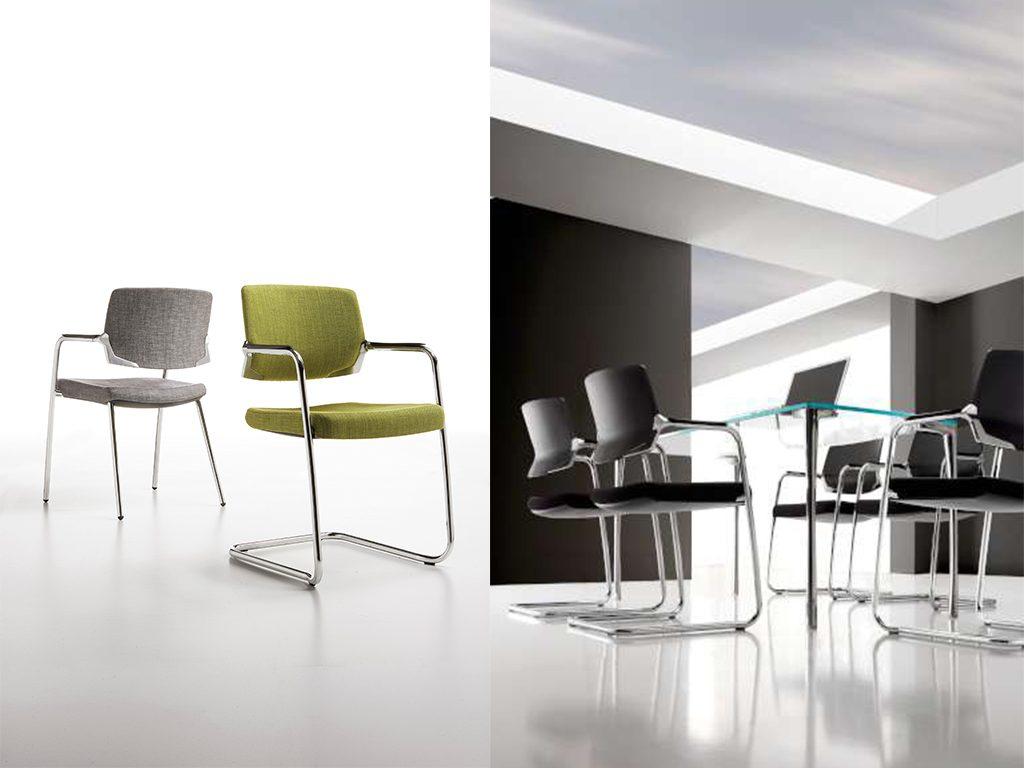 LYRA   Cadeiras de Reunião para Escritório