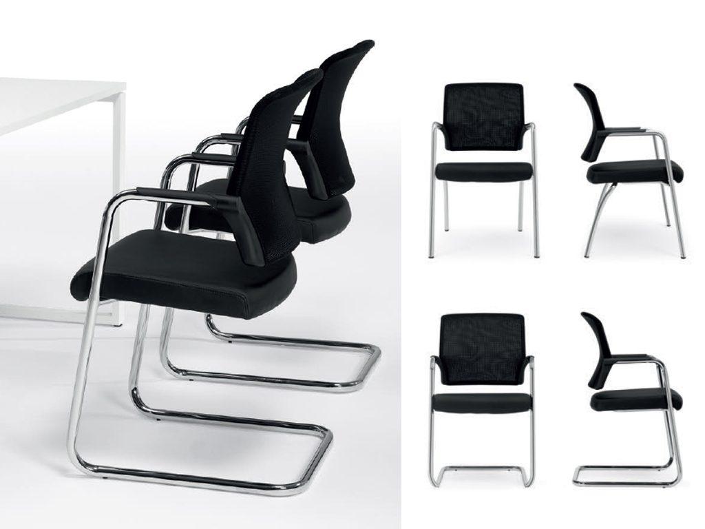 ECOPLUS   Cadeiras de Reunião para Escritório