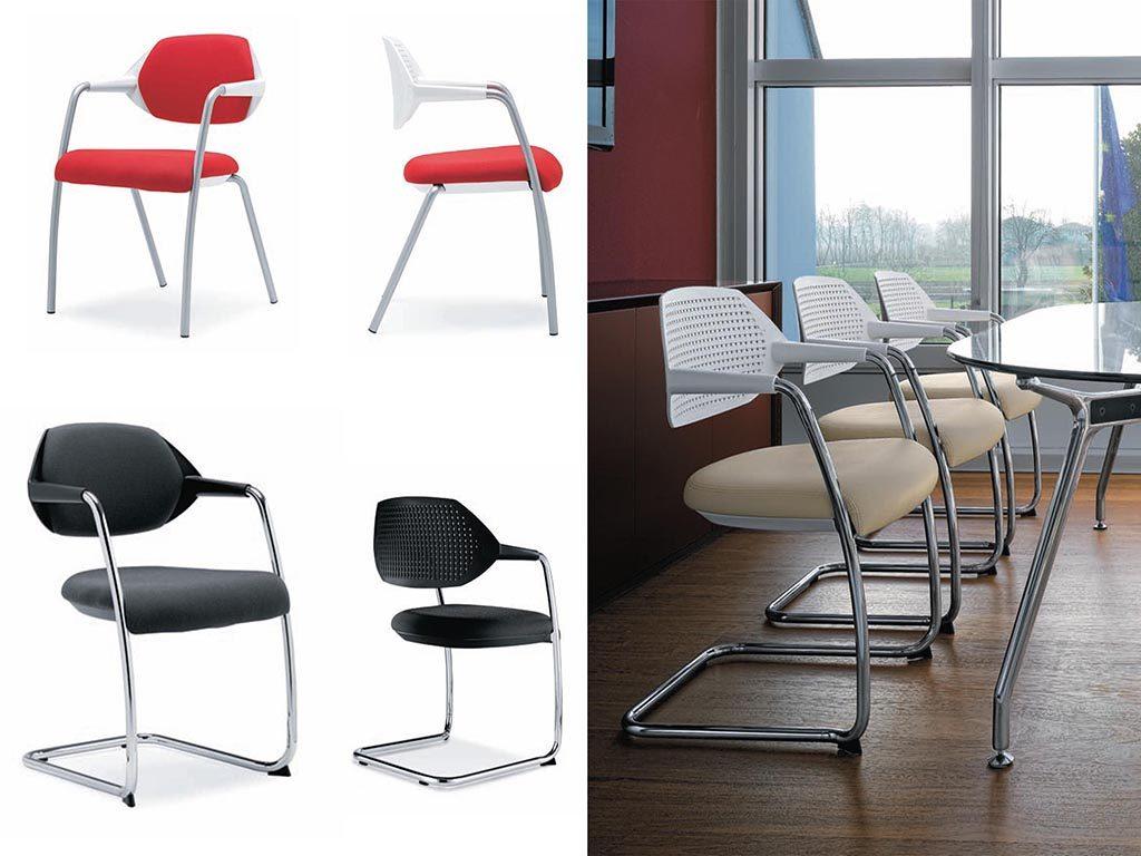 FLEX   Cadeiras de Reunião para Escritório