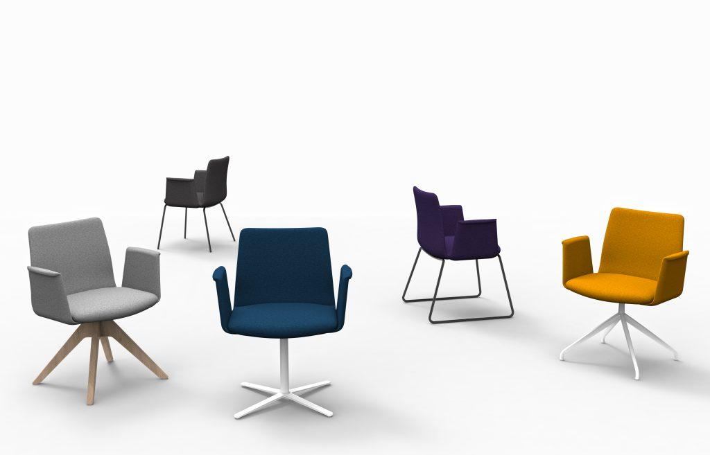 YORK XS   Cadeiras de Reunião para Escritório