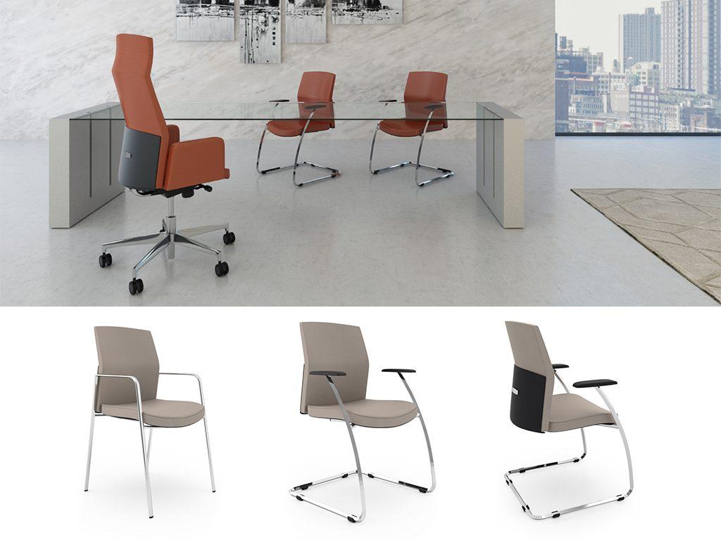 REPLAY   Cadeiras de Reunião para Escritório