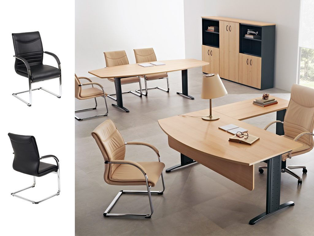 CROWN   Cadeiras de Reunião para Escritório