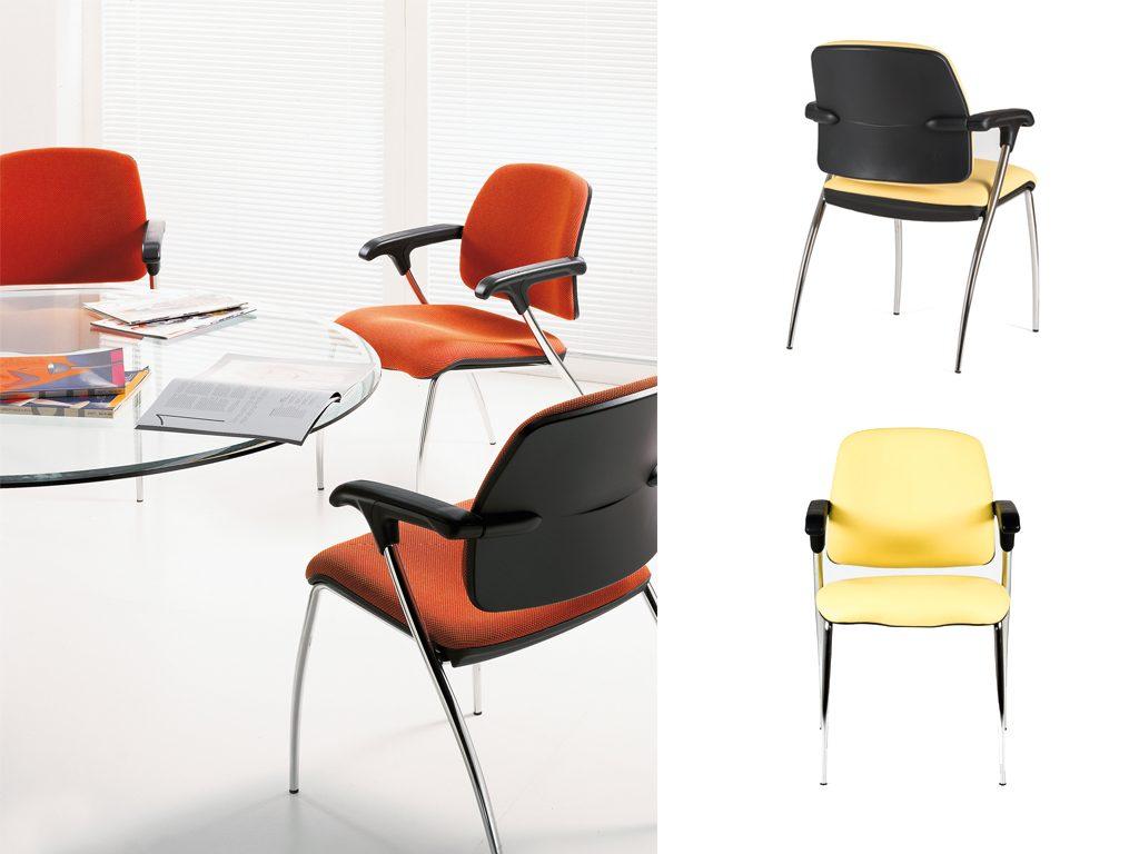 JUNO   Cadeiras de Reunião para Escritório